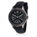 Montre PULSAR. PP6027X. quartz bracelet. polyuréthane noir